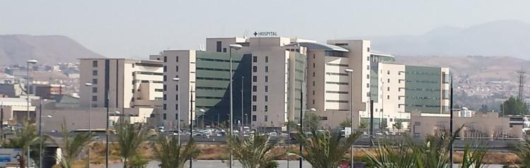 Hospital San Cecilio, en el PTS.