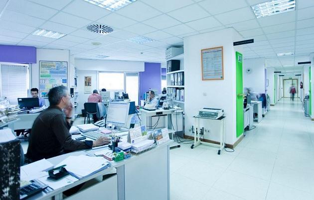 Personal hospitalario de Granada.