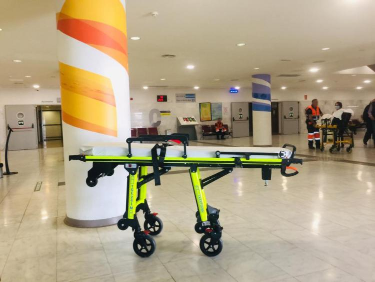Entrada al Hospital Clínico.