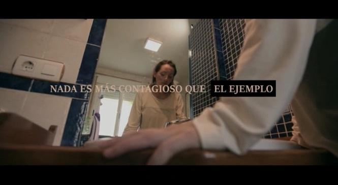 Imagen del vídeo creado por la institución provincial.