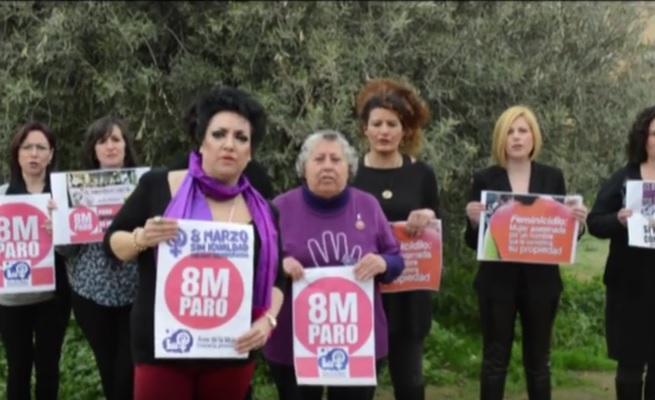 Imagen del vídeo del Área de la Mujer de IU Granada.