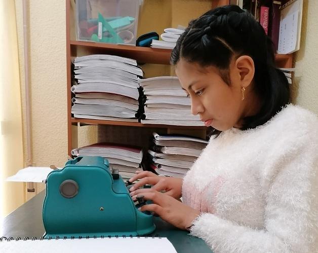 Jazmín Irani, una de las alumnas.