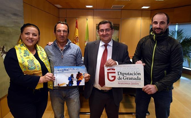 De izqda. a dcha., Purificación López, Pepe Saldaña, José Entrena y Fernando Fernández-Vivancos.