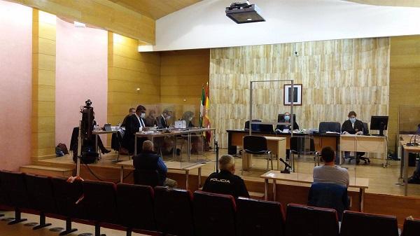 Imagen de una sesión del juicio.