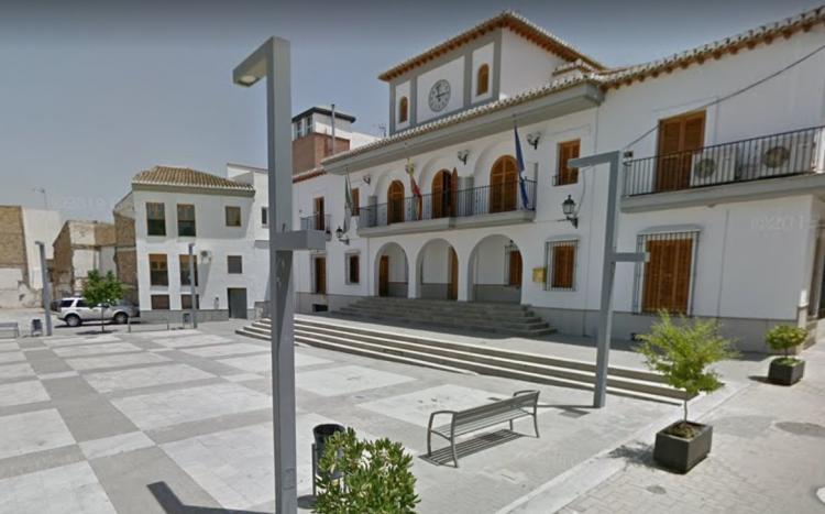 Plaza del Ayuntamiento de Las Gabias.