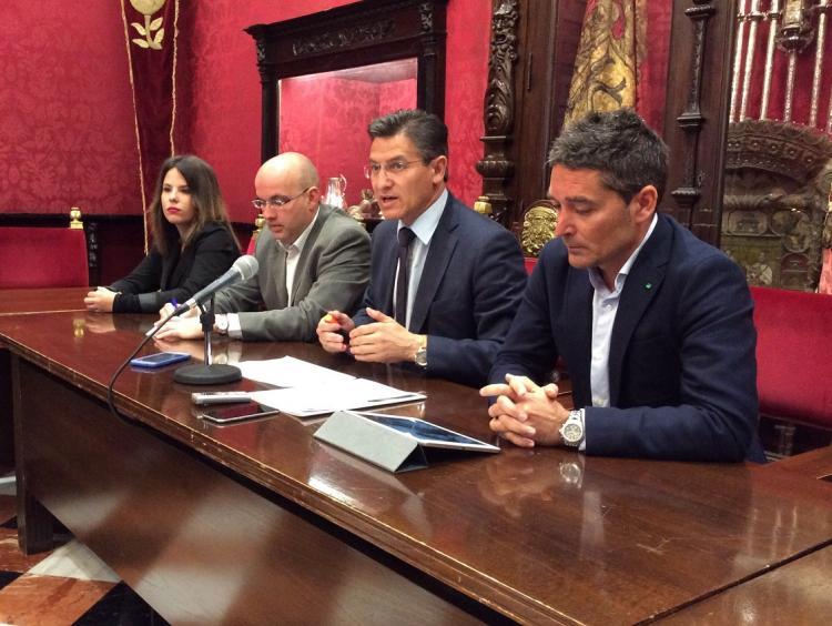 Los concejales de Ciudadanos.