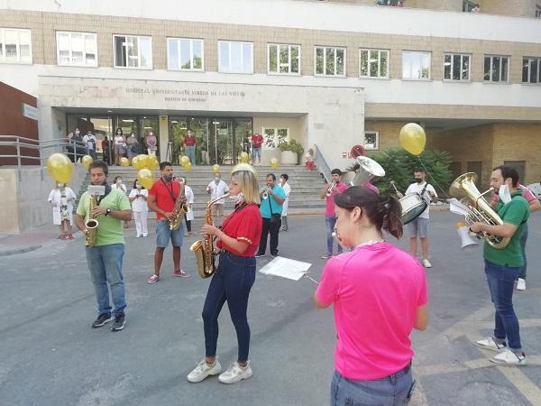 La actividad forma parte de la campaña 'Enciende la esperanza', que se lleva a cabo en septiembre.