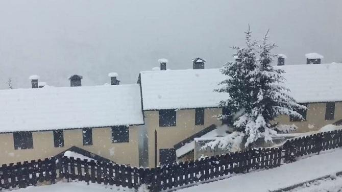 Nieve en Pradollano este martes.