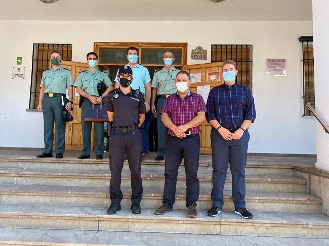 Policía Local y Guardia Civil estrecharán su colaboración.
