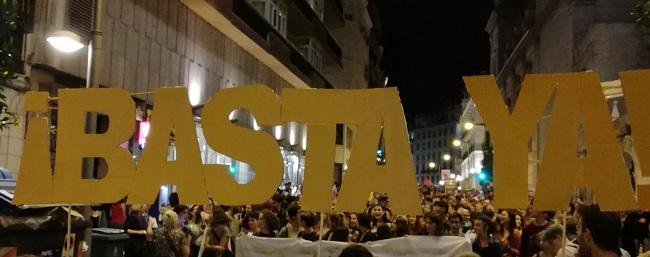 Imagen de la manifestación celebrada el pasado septiembre.