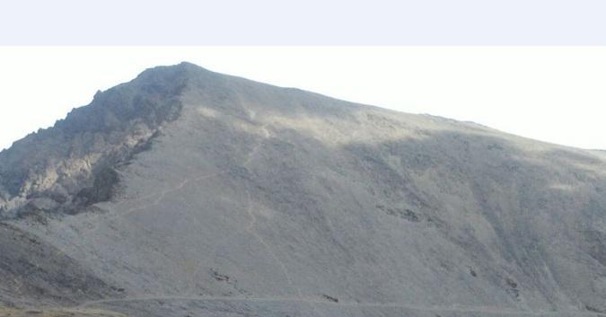 Vista del Mulhacén.