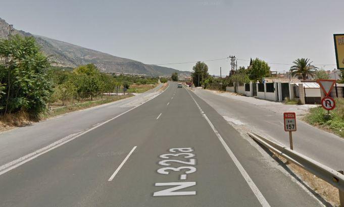 El accidente se ha producido en el km 157 de la N-323a.