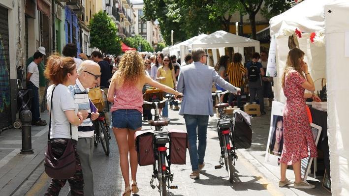 La calle Molinos se llenará de peatones y bicis, como el año pasado.
