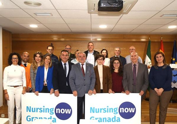Presentación de la iniciativa 'Nursing now'.