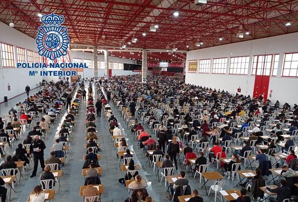 Imagen del recinto de Fermasa, donde se ha celebrado el examen.