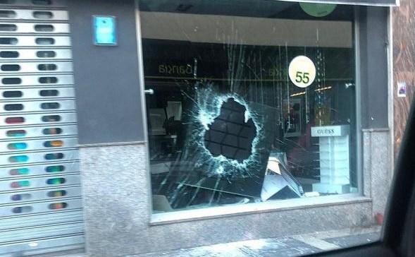 Imagen de archivo de un establecimiento que sufrió un robo el pasado febrero en Ogíjares.