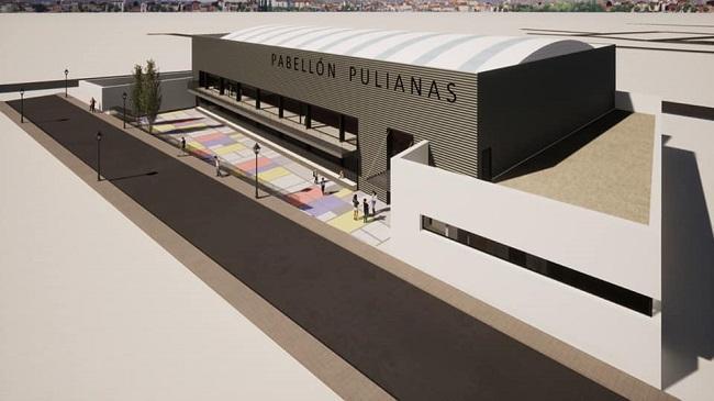 Imagen del proyecto del pabellón.