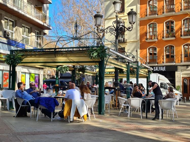 Imagen de archivo de la Plaza del Campillo.
