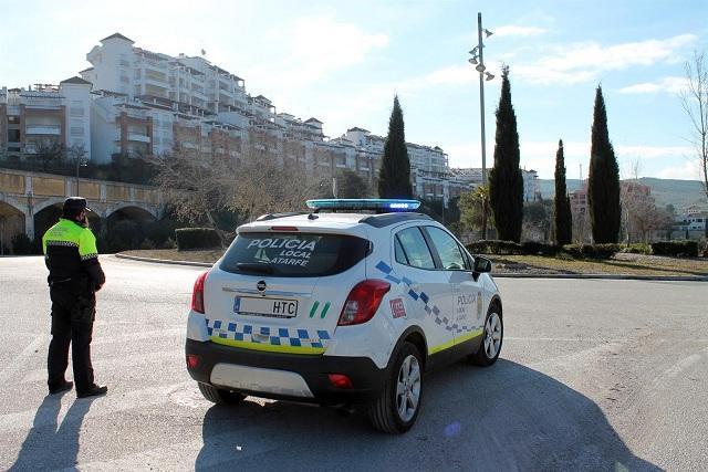 Patrulla de la Policía Local de Atarfe.