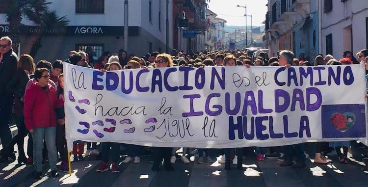 Manifestación de dolor en La Zubia.