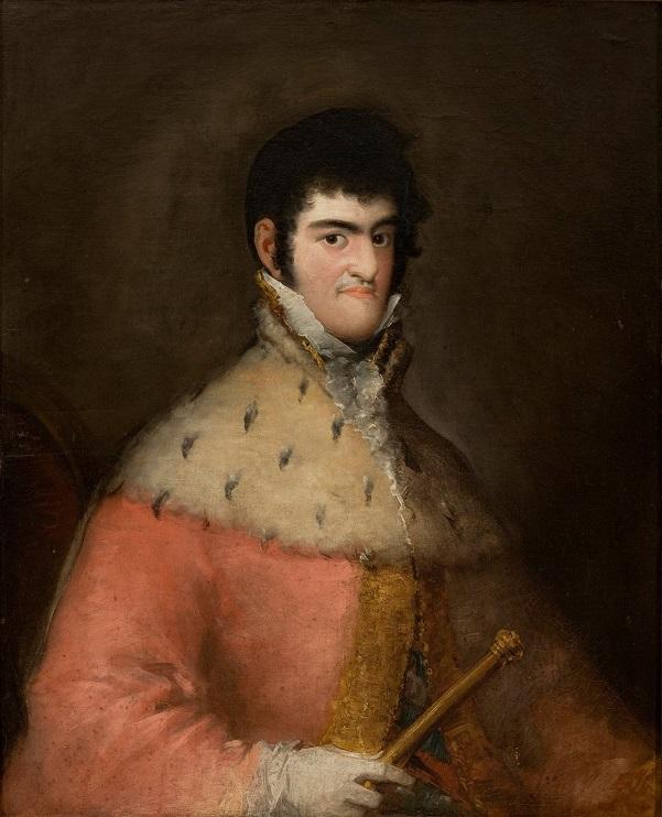 Retrato de Fernando VII, por Goya, en 1808.