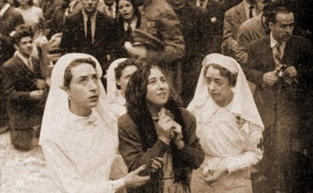 María García Moreno fue una de las mujeres que manifestó curación espontánea de su tuberculosis y mal de Pott.
