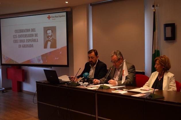 Presentación de la memoria de Cruz Roja y su 125º aniversario.
