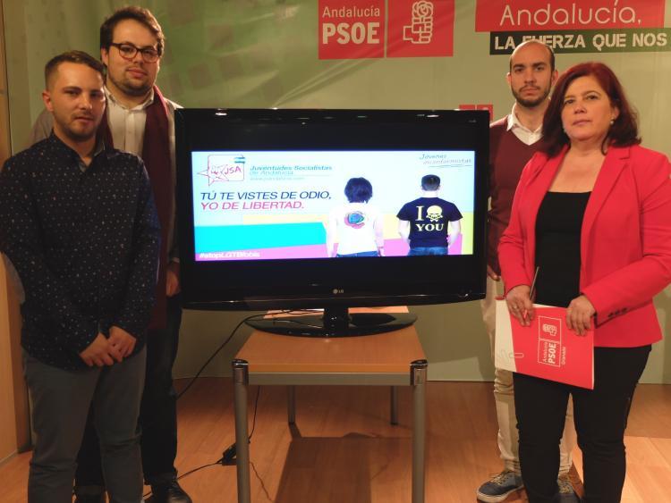 Elvirán Ramón, Antonio Agudo y otros representantes de JJSS.
