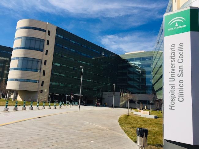 Hospital del PTS, donde permanecen los nuevos positivos.