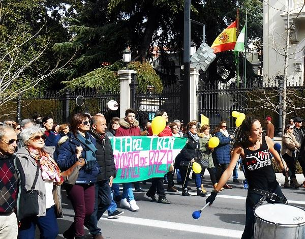 Una de las movilizaciones en la que participó el colectivo.
