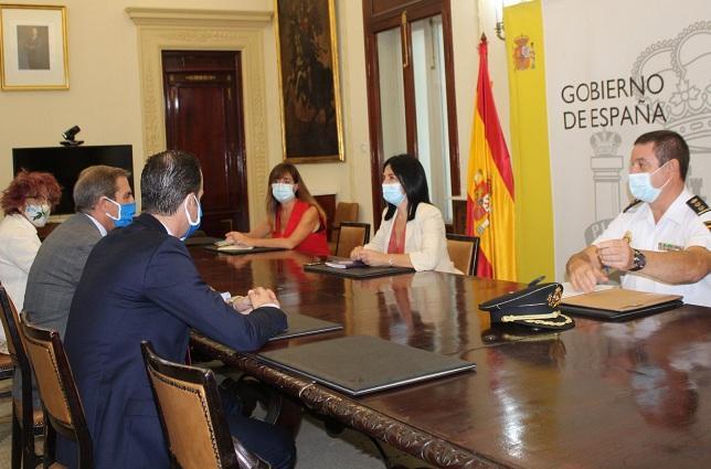 Reunión entre miembros de Colegio de Abogados con la Subdelegación del Gobierno.