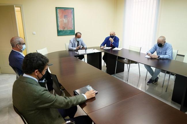Reunión de la Mesa por la Unificación de las Sedes Judiciales, a la que no han acudido representantes de la Junta.