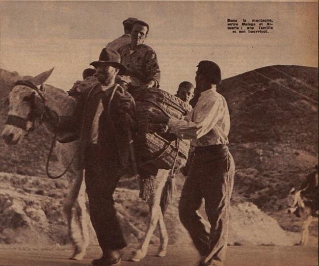 Publicación francesa que, con fotografías de Gerda Taro y Robert Capa, recogieron el drama de la población ante la barbarie de la Desbandá.