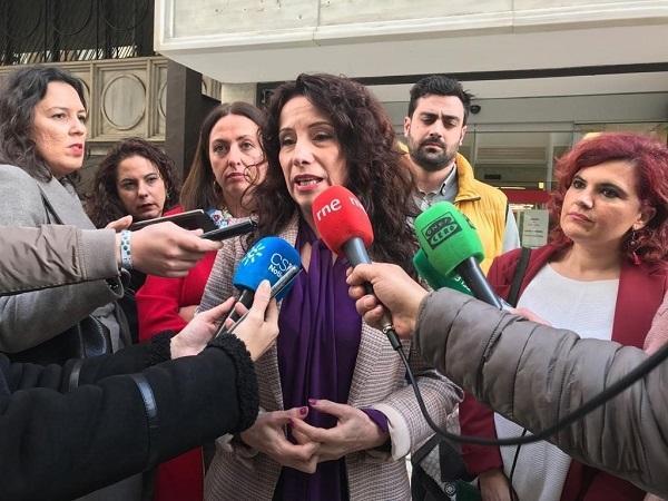 Rocío Ruiz, en una imagen de archivo.