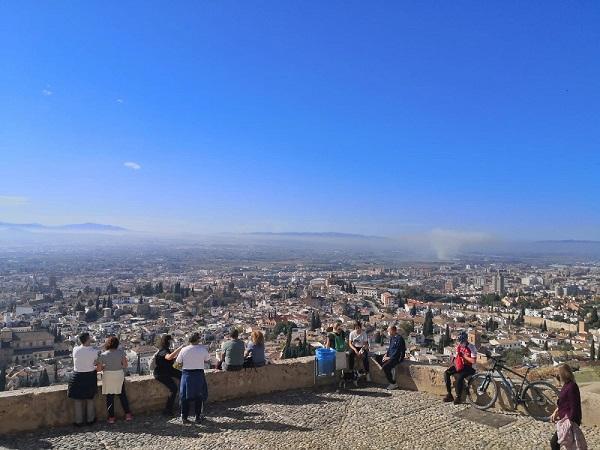 San Miguel Alto, el pasado fin de semana.