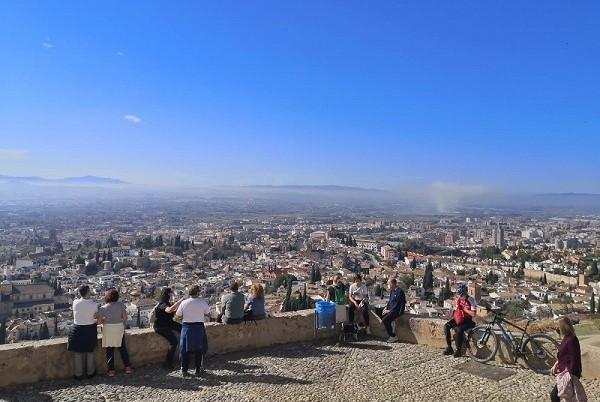 Imagen de archivo del mirador de San Miguel Alto.