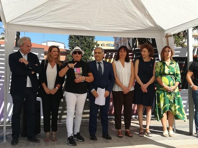 Autoridades y representantes de Asogra, en la jornada de hoy.