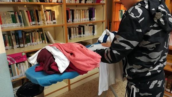 El objetivo era sensibilizar al alumnado en la corresponsabilidad de las tareas domésticas.