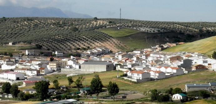 Vista de la localidad de Domingo Pérez.