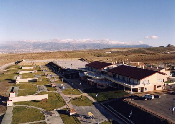 Instalaciones del Centro de Tiro Olímpico en Las Gabias.