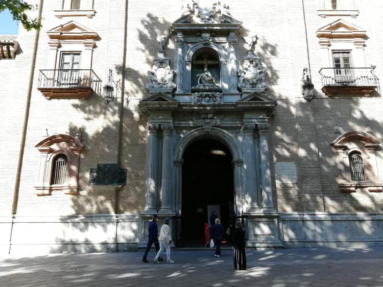 Imagen de archivo de la Basílica de la Virgen de las Angustias.