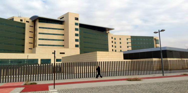 Una vista del nuevo hospital del PTS.