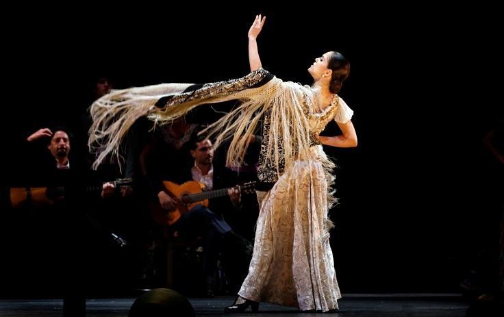 Patricia Guerrero, durante una actuación.