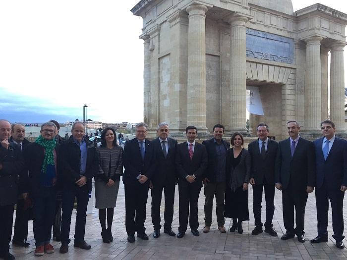 Algunos de los participantes, entre ellos, Cuenca.