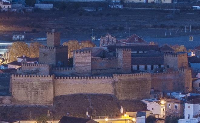 Alcazaba de Guadix.