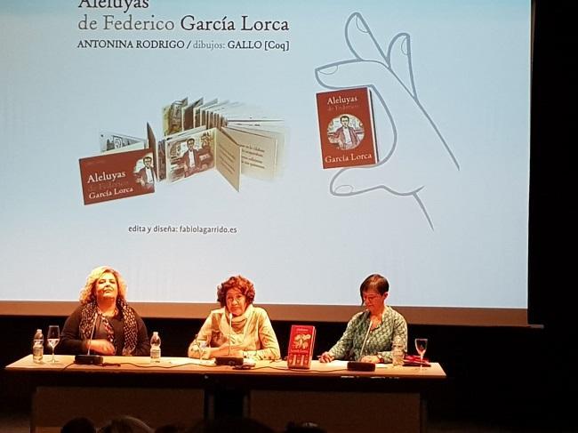 Fátima Gómez, Antonina Rodrigo y Fabiola Garrido.