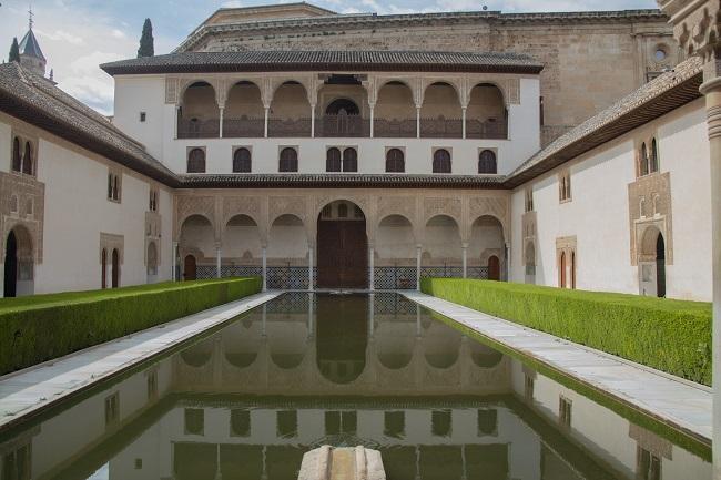 Imagen del recinto monumental durante el confinamiento.