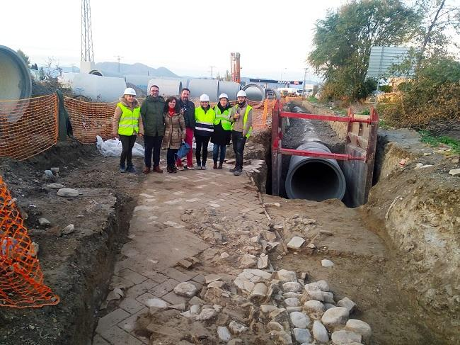 Los trabajos arqueológicos no retrasarán la obra del colector.