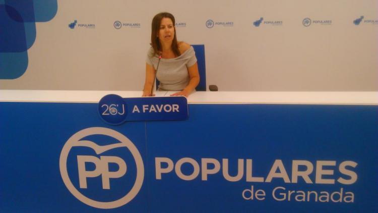 La diputada autonómica por Granada Ana Vanessa García.