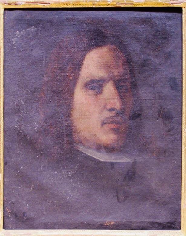 Retrato de Bocanegra pintado por Teodoro Ardemans en menos de una hora.